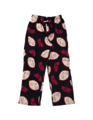 Family Guy Stewie You Will Obey Me Men's Fleece Sleep Pant/All-over design/Drawstring waistband/Button fly/100% Polyester.