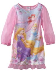Girls 2-6X Summer Palace Long Sleeve Disney Gown:100% Polyester Knit/Machine Wash.